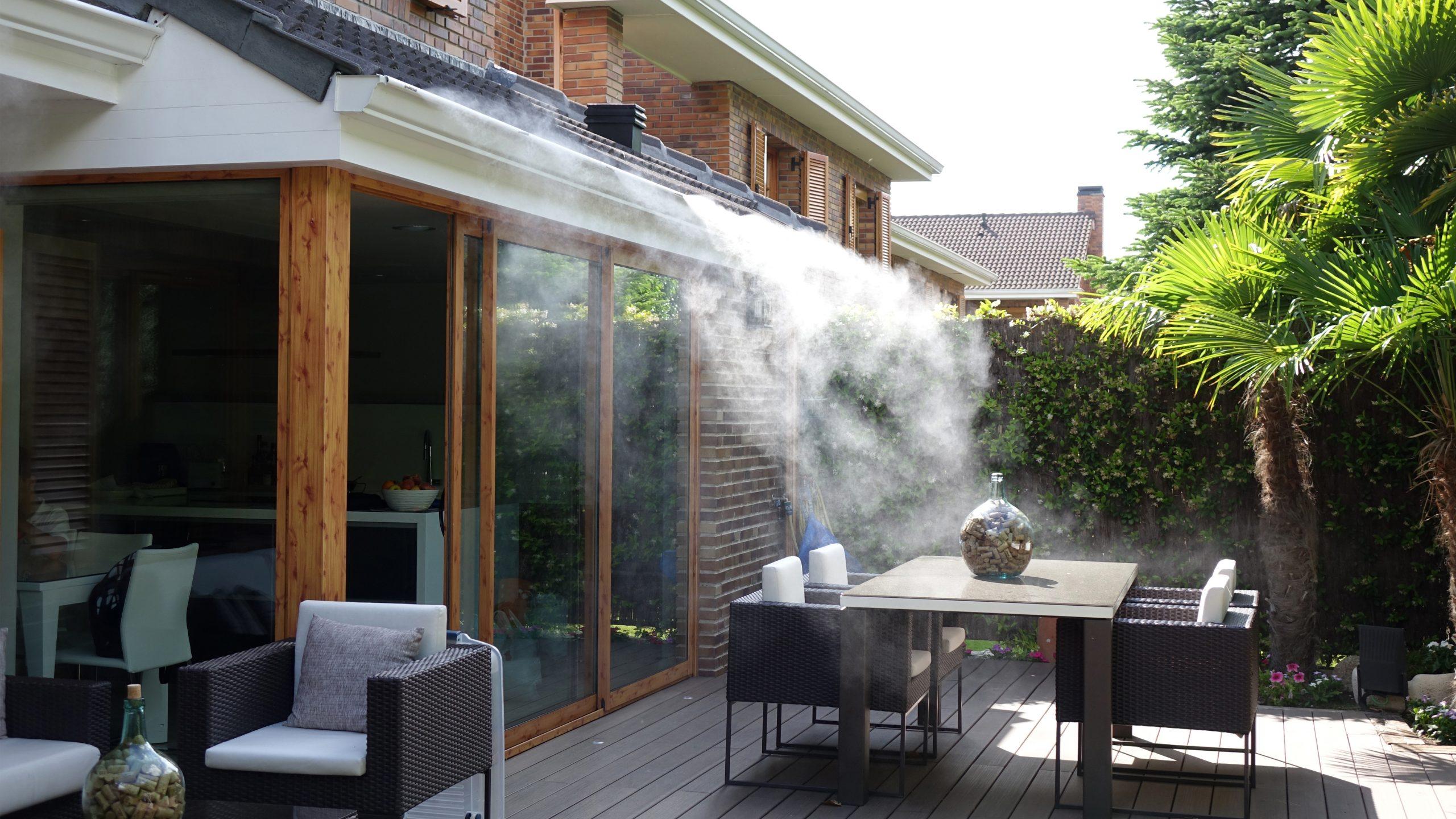 microclima terraza casa